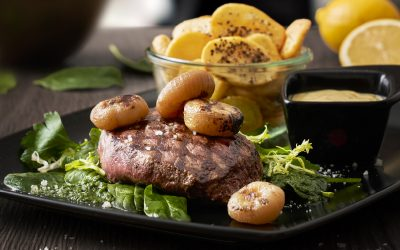 Citron Bearnaise Steak